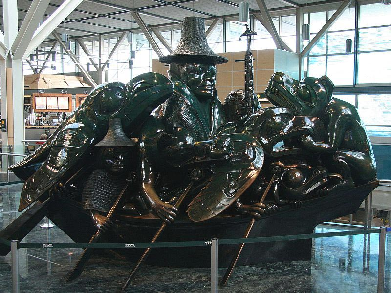 Spirit of Haida Gwaii: The Jade Canoe by Bill Reid  Photo by: Reinhard Kraasch