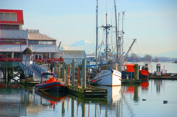 Steveston fishing village, British Columbia, Canada