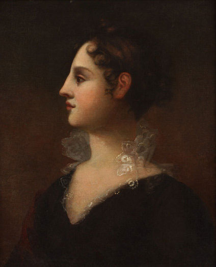portrait of Theodosia Burr